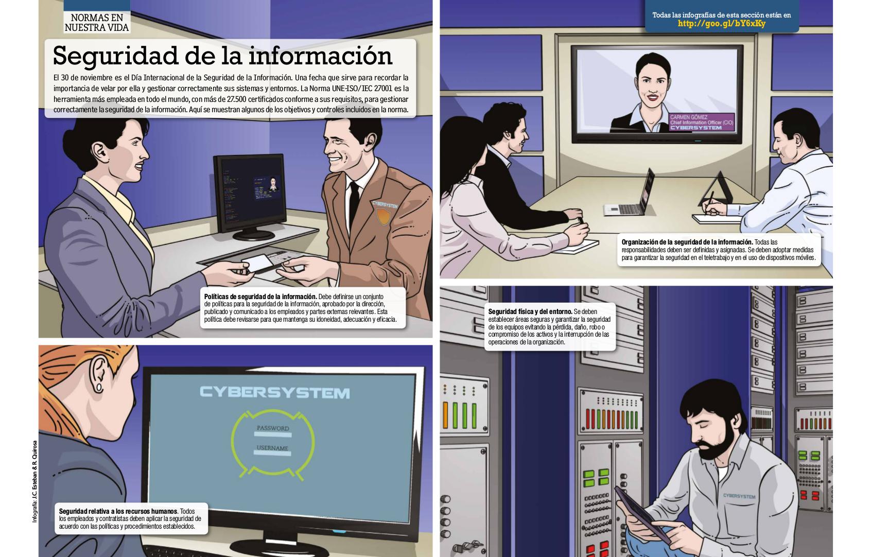 Seguridad de la información, consejos